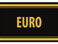 "1 x SAFE 1130 SIGNETTE Aufkleber selbstklebend "" EURO """