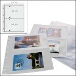 100 SAFE 5477 A4 Banknotenhüllen Hüllen Schutzhüllen Ergänzungsbätter A5 mit 2er - 2C - Teilung 147 x 215 mm Für bis zu 400 Geldscheine - Papiergeld - Banknoten