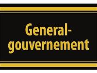 """1 x SAFE 1130 SIGNETTE Aufkleber selbstklebend """" Generalgouvernement """""""