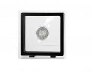 SAFE 4528 SCHWEBERAHMEN NEO FOTORAHMEN BILDERRAHMEN 3D Schwarz 110 x 110 mm / 92 x 92 mm Für Münzen