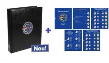 SAFE 5414-17 PREMIUM EURO Münzalbum Vordruckalbum Deutschland komplett + Münzblättern + Vordruckblättern 2017
