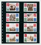 1 x SAFE 7734 Einsteckblätter Spezialblätter Favorit Schwarz 8 Taschen 125 x 70 mm Für 16 Spielkarten - Tradingcards