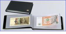 SAFE 226 Taschenbanknotenalbum Album 20 Seiten für bis zu 40 Banknoten Geldscheine