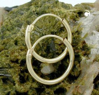 Creolen Goldcreolen 333 er 8 kt. 15, 00 mm