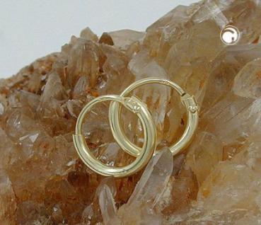 Creolen Goldcreolen 333 er 8 kt. 9, 00 mm