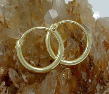 Creolen Goldcreolen 333 er 8 kt. 11, 00 mm