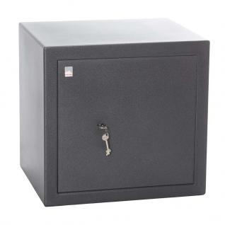 Atlas Tresore Sicherheitsschrank, Sicherheitsstufe B + S2, TA S24, 47 x 49 x 41, 5 cm, Doppelbart