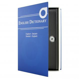 HMF 309-05 Buchtresor English Dictionary, 23, 5 x 15, 5 x 5, 5 cm, blau