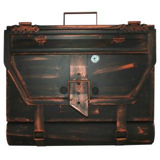 Briefkasten Aktentasche Antik 99, 25 x 40 x 8 cm - Vorschau 2