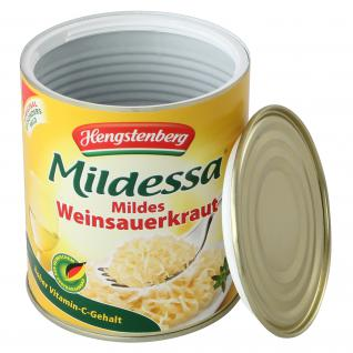 Sauerkraut Dose