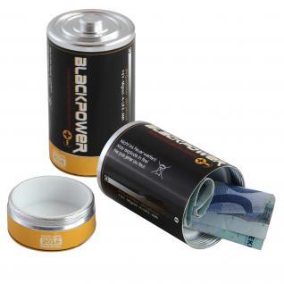 Dosensafe Dosentresor Geldversteck Batterie - Vorschau 1
