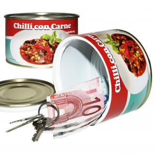 Dosensafe Dosentresor Geldversteck Chilli con Carne - Vorschau 1