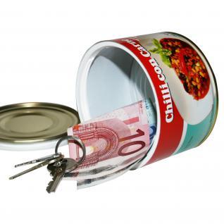 Dosensafe Dosentresor Geldversteck Chilli con Carne - Vorschau 3