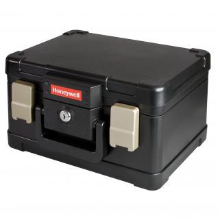 Honeywell 2511102 Feuerfeste Dokumentenkassette DIN A5, 30, 9 x 24, 9 x 17, 8 cm, schwarz - Vorschau 2