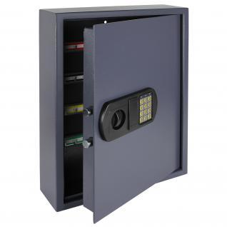 HMF 2100-07 Schlüsseltresor 100 Haken, 55 x 40 x 12 cm, anthrazit - Vorschau 1