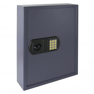 HMF 2100-07 Schlüsseltresor 100 Haken, 55 x 40 x 12 cm, anthrazit - Vorschau 3