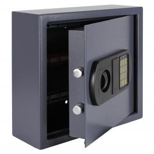 HMF 2025-07 Schlüsseltresor 25 Haken, 31 x 32 x 12 cm, anthrazit