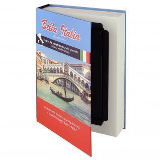 HMF 80935 Buchtresor Papierseiten Italien, 23 x 15 x 4 cm