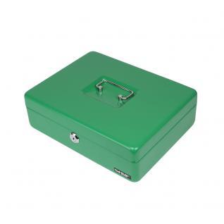 HMF 10015-06 Geldkassette Euro-Münzzählbrett, 30 x 24 x 9 cm, grün - Vorschau 3