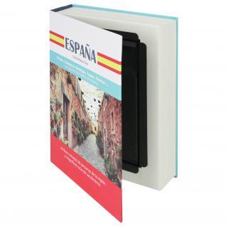 HMF 80945 Buchtresor Papierseiten Spanien, 23 x 15 x 4 cm