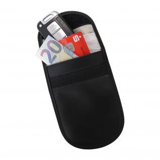 HMF 3403-02 RFID Schutztasche Smartphone Autoschlüssel, Abschirmung, RFID Blocker, 13, 5 x 9, 5 x 1, 5 cm
