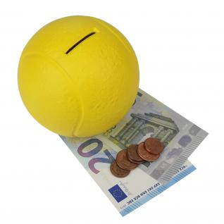 HMF 48910 Spardose Tennisball, 10 cm
