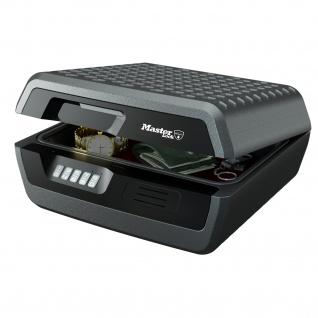 Master Lock Feuerfeste Dokumentenkassette CHW30300 DIN A4, 41, 9 x 37, 5 x 19, 3 cm, anthrazit