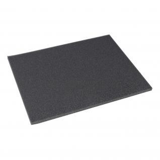 HMF 14590 Boden, Schaumstoffeinlage für Werkzeugkoffer, Tabletop, Koffereinlage, 345 x 10 x 275 mm