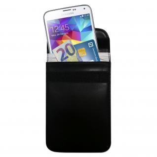 HMF 3404-02 RFID Schutztasche Smartphone Autoschlüssel, Abschirmung, RFID Blocker, 15 x 11 x 1, 5 cm