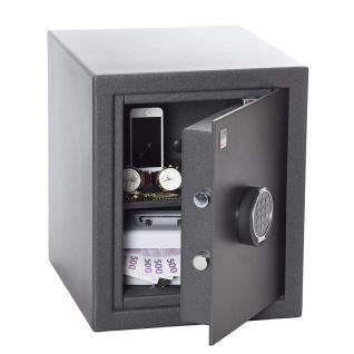 Atlas Tresore Sicherheitsschrank, Sicherheitsstufe B + S2, TA S23, 43 x 36 x 41 cm, Elektronik - Vorschau 2