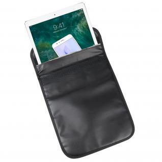 HMF 3406-02 RFID XXL Schutztasche Tablet Smartphone, Abschirmung, 28 x 22, 5 x 1, 5 cm