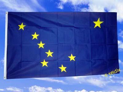 Flagge Fahne ALASKA 150 x 90 cm