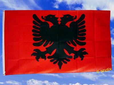 Flagge Fahne Albanien 150 X 90 Cm - Vorschau