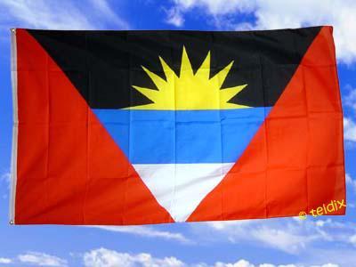 Flagge Fahne ANTIGUA UND BARABUDA 150 x 90 cm - Vorschau