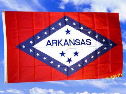 Flagge Fahne Arkansas 150 X 90 Cm - Vorschau