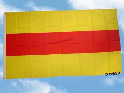 Flagge Fahne BADEN OHNE WAPPEN 150 x 90 cm