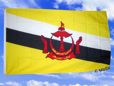 Flagge Fahne BRUNEI 150 x 90 cm - Vorschau