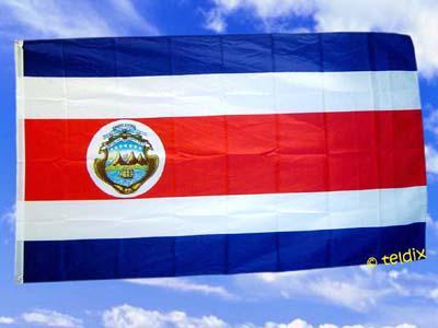 Flagge Fahne Costa Rica 150 X 90 Cm - Vorschau
