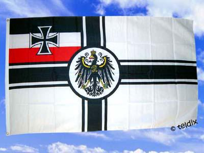 Flagge Fahne KAISERLICHE MARINE 150 x 90 cm
