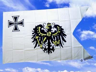 Flagge Fahne DR. TOPPFLAGGE DER PREUSSEN 150x90cm