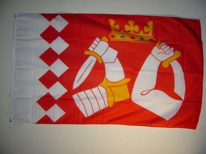 Flagge Fahne FINNLAND NORDKAROLIEN 150 x 90 cm