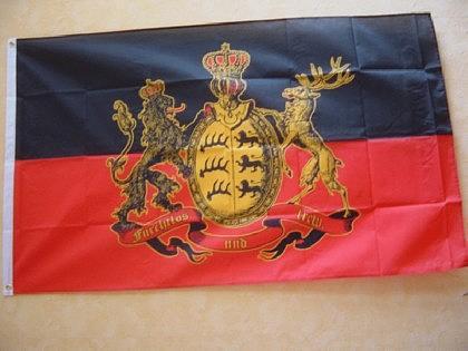 Flagge Fahne FURCHTLOS UND TREU 150 x 90 cm
