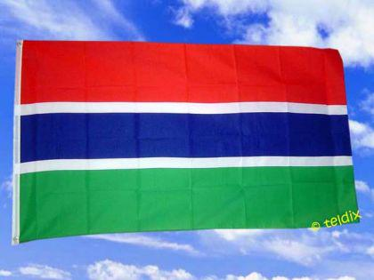 Flagge Fahne GAMBIA 150 x 90 cm