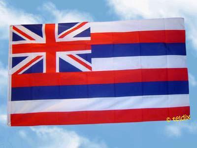 Flagge Fahne HAWAII 150 x 90 cm
