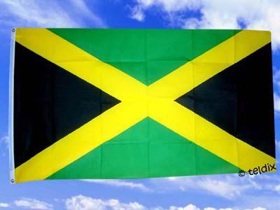 Flagge Fahne JAMAIKA 150 x 90 cm