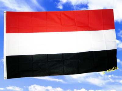 Flagge Fahne JEMEN 150 x 90 cm - Vorschau