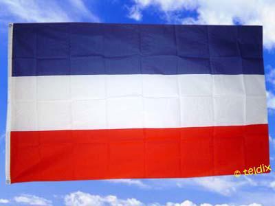 Flagge Fahne JUGOSLAWIEN 150 x 90 cm