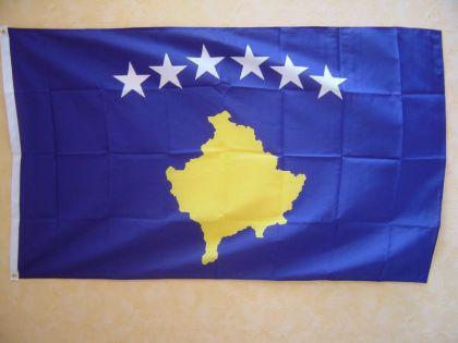 Flagge Fahne KOSOVO 150 x 90 cm