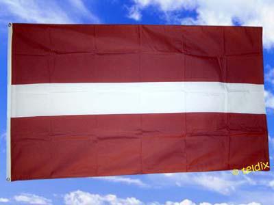 Flagge Fahne Lettland 150 X 90 Cm - Vorschau