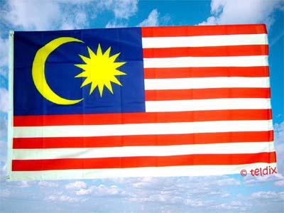 Flagge Fahne MALAYSIA 150 x 90 cm